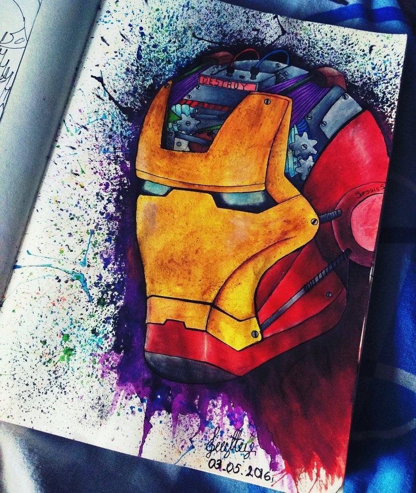Iron Man by zyzypetsXD
